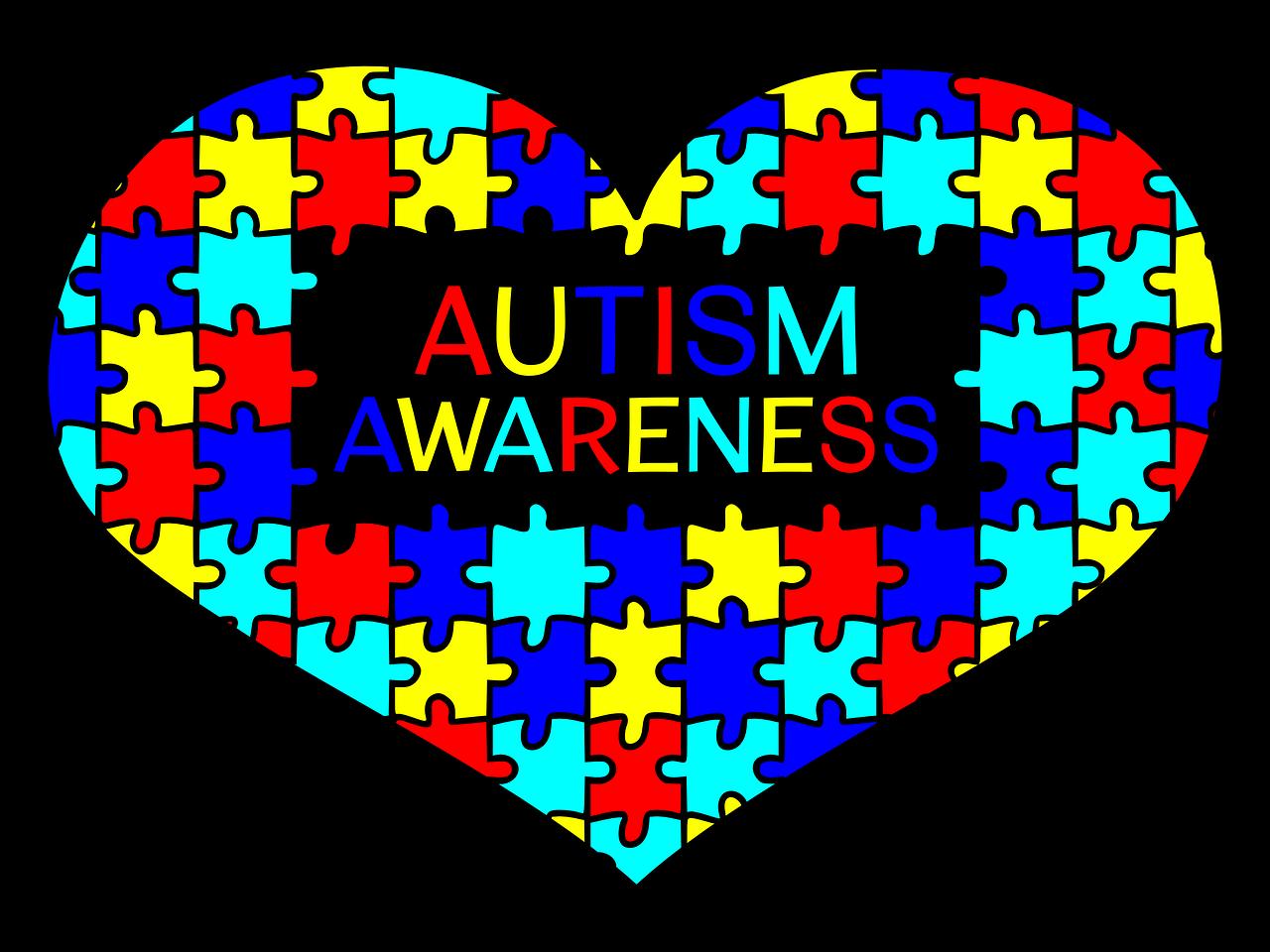 heart, autism awareness, support